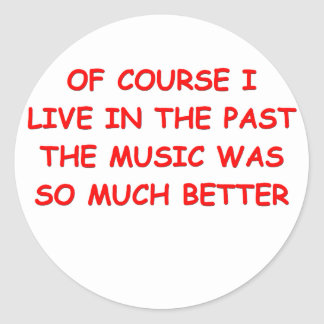 old time music stickers