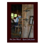 Old Time Music ~ The Fiddler Postcard