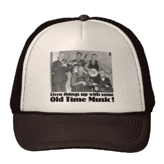 Old Time Music Trucker Hat