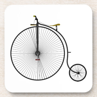 Old Time Penny Farthing bicycle Coaster