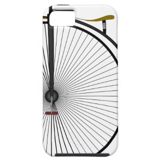Old Time Penny Farthing bicycle iPhone SE/5/5s Case