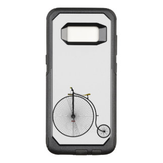 Old Time Penny Farthing bicycle OtterBox Commuter Samsung Galaxy S8 Case