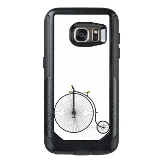 Old Time Penny Farthing bicycle OtterBox Samsung Galaxy S7 Case