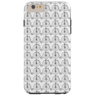 Old Time Penny Farthing bicycle Tough iPhone 6 Plus Case