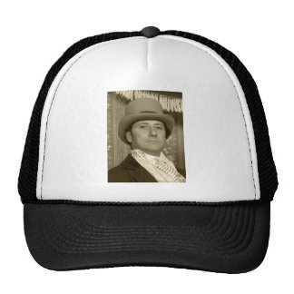 old-time photo sepia trucker hat