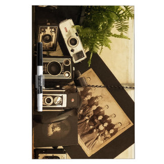 Old Time Photography Dry Erase Board