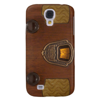 Old Time Radio Phone Case Samsung Galaxy S4 Covers