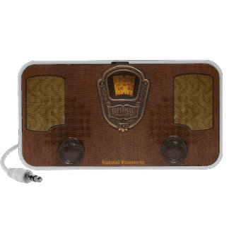 Old Time Radio Portable Speaker