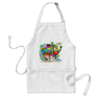 Old Time Rock N' Roll Adult Apron