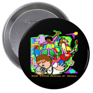Old Time Rock N' Roll Button