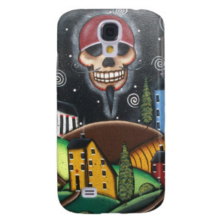 Old Time Saltbox, By Lori Everett Samsung Galaxy S4 Cover