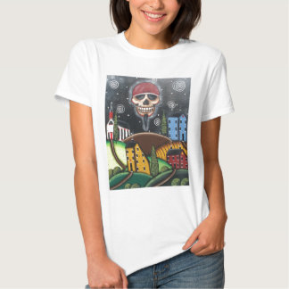 Old Time Saltbox, By Lori Everett Tee Shirt