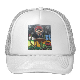Old Time Saltbox, By Lori Everett Trucker Hat