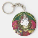 Old Time Santa Key Chains
