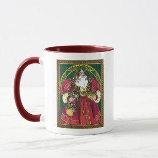 Old Time Santa Mug
