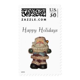 Old Time Santa Postage Stamps