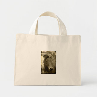 Old Time Sepia Horse Photograph Bag