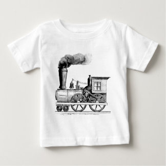 Old Time Steam Locomotive Baby T-Shirt