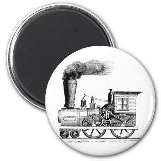 Old Time Steam Locomotive Magnet