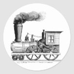 Old Time Steam Locomotive Stickers