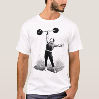 Old Time Strong Man T-Shirt