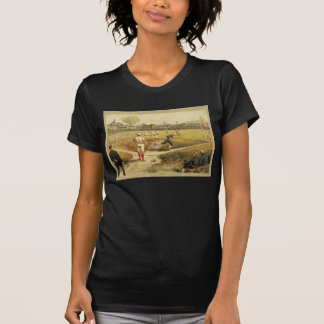 Old Time Vintage Baseball Game in 1887 Tees