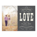 OLD TIME VINTAGE | SAVE THE DATE ANNOUNCEMENT POST CARDS