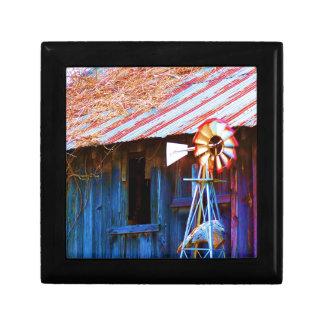 Old-time Windmill Keepsake Box