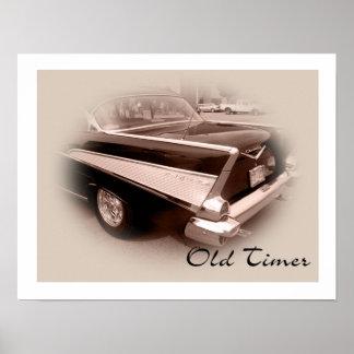Old Timer 57 Chevrolet Poster