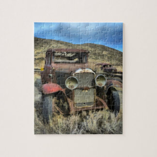 Old timer automobile jigsaw puzzle