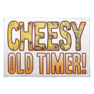 Old Timer Blue Cheesy Cloth Placemat