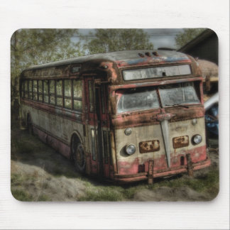 Old Timer Bus Mouse Pad