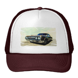 Old timer trucker hat