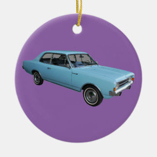 Old timer Opel Rekord Ceramic Ornament