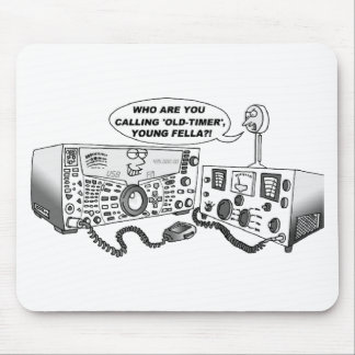 Old Timer Radio Mouse Pad