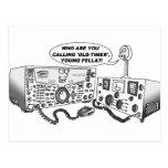 Old Timer Radio Post Card