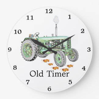 Old Timer Tractor Clock