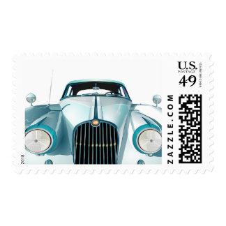 Old Timer Vintage Automobile Car Stamp