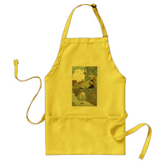 old times adult apron