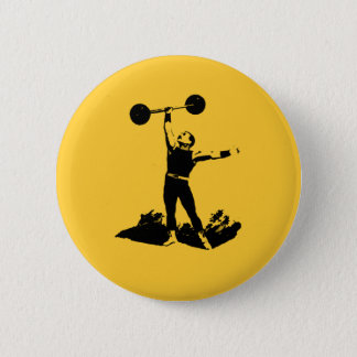 Old Timey Dude Pinback Button