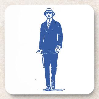 Old Timey Gentleman Coaster