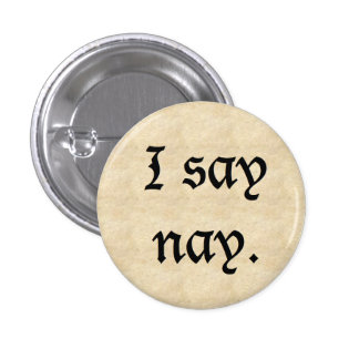 Old Timey No. Pinback Button