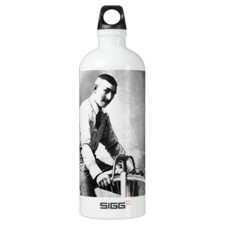 Old' Timey Pennyfarthing Victorian Bicycle Aluminum Water Bottle
