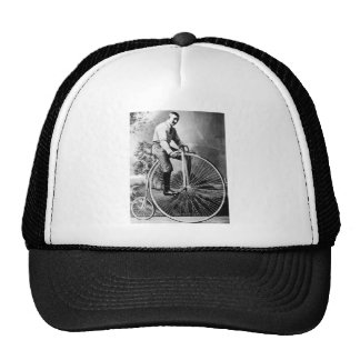 Old' Timey Pennyfarthing Victorian Bicycle Trucker Hat