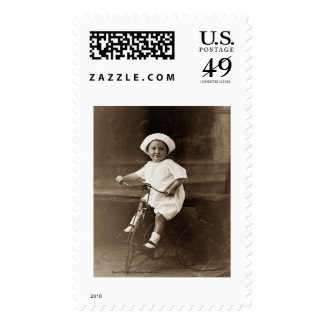 Old Timey Tricycle Postage