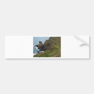 Old Tin Mine Botallack in Cornwall Bumper Sticker