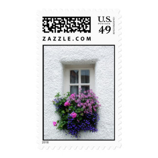 Old, tiny Scottish window, welcome home Postage