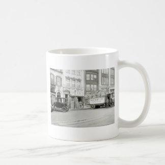 Old Tire Shop, 1920s Coffee Mug