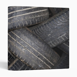 Old Tires for Recycling Binder