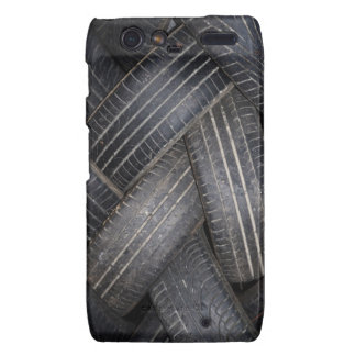 Old Tires for Recycling Motorola Droid RAZR Cover